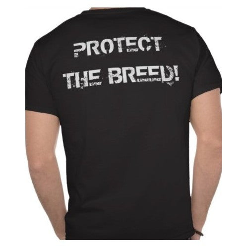 Protect The Breed Mens Pitbull Shirt