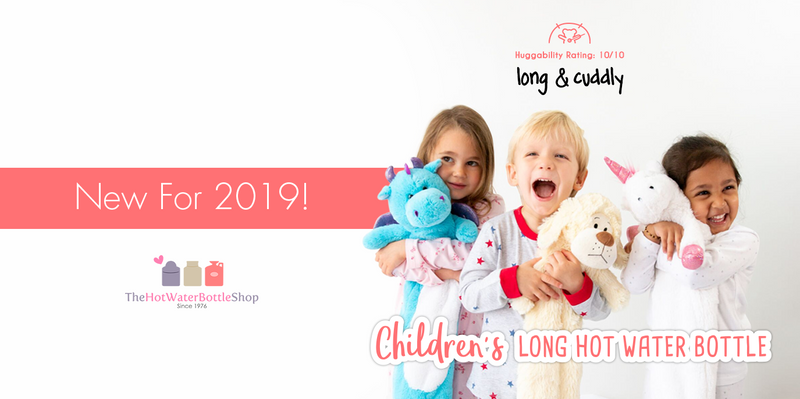 New For 2019! Children's Long Hot Water Bottle