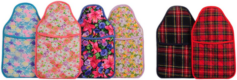 The Hot Water Bottle Shop Vintage Floral and Heritage Tartan Collections