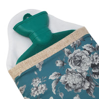 Made In Britain Graceful Liberty & HARRIS TWEED Contrast Cover with Bottle (Turquoise)
