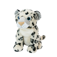 Oliver The Snow Leopard (with clay bead pillow)