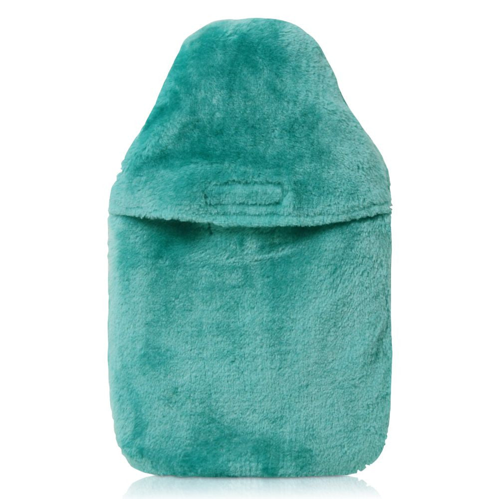 Coronation Traditional Jade Soft Fur Cover and Hot Water Bottle