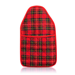 Coronation Heritage Red Tartan Cover and Hot Water Bottle