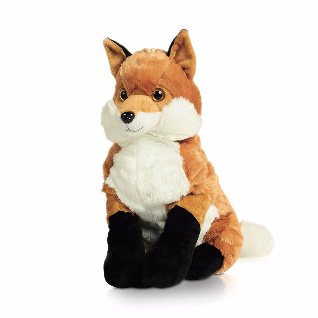 Fox hot water bottle toy