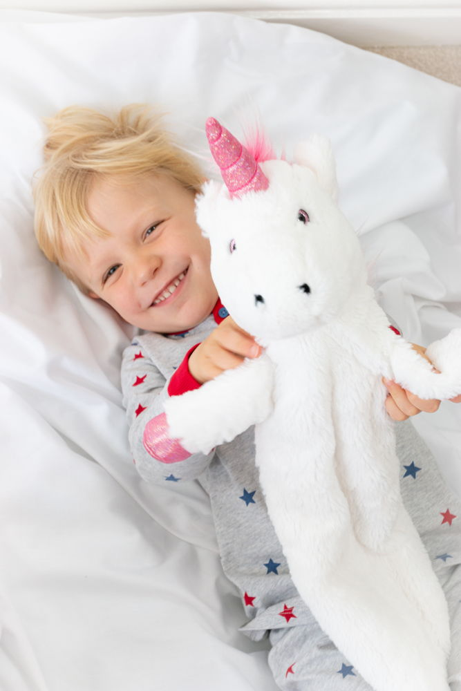Fi Fi Unicorn Children's Long Hot Water Bottle