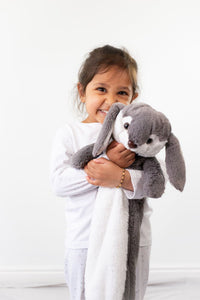 Reilly Rabbit Children's Long Hot Water Bottle