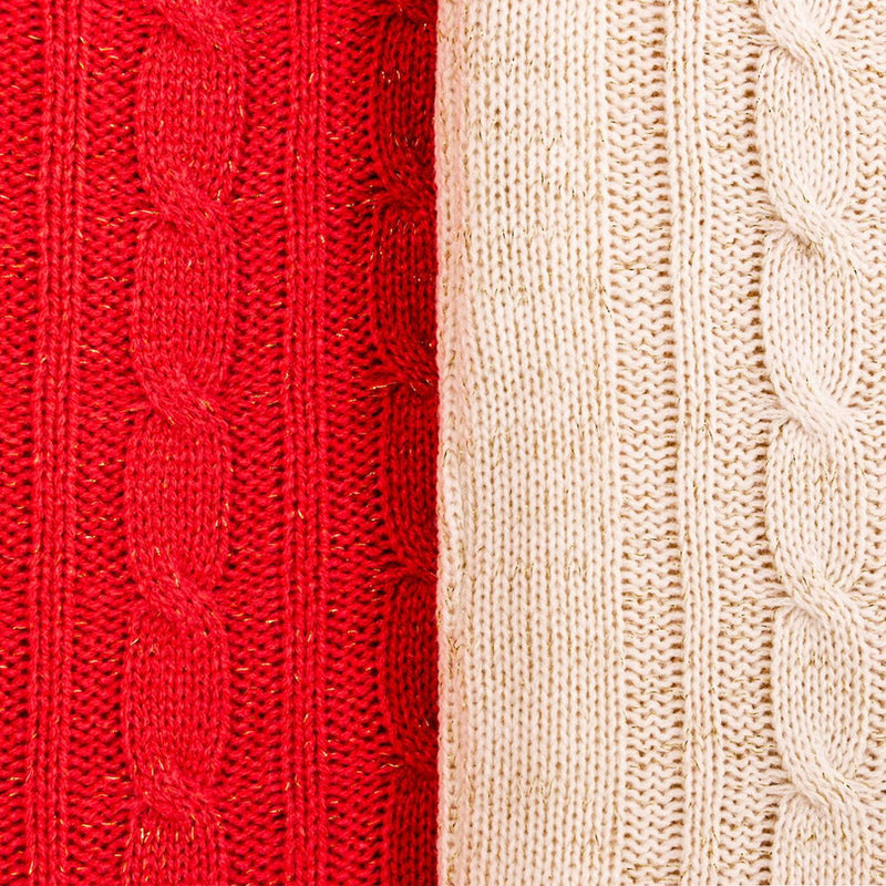 Cable Knit Classic: Blush