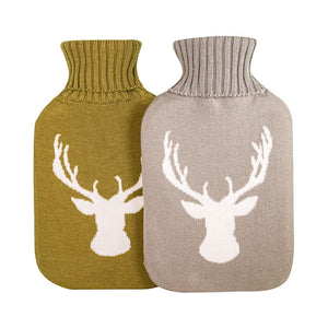 Light Grey & Cream Stag