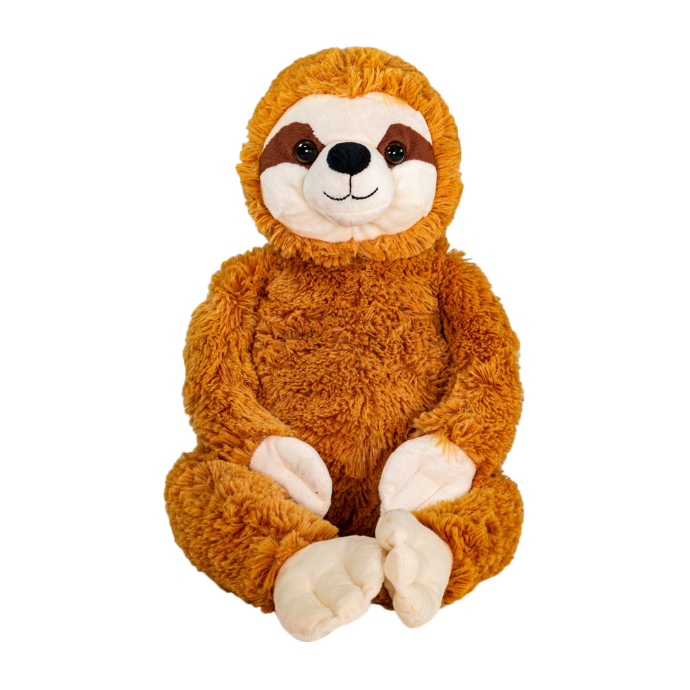 Sammy The Sloth - Large Cuddly Toy With Ceramic Bead Pillow