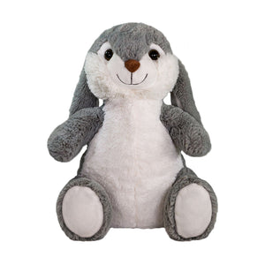 New For 2020! Bea The Bunny - Medium Cuddly Toy With Microwaveable Ceramic Bead Pillow
