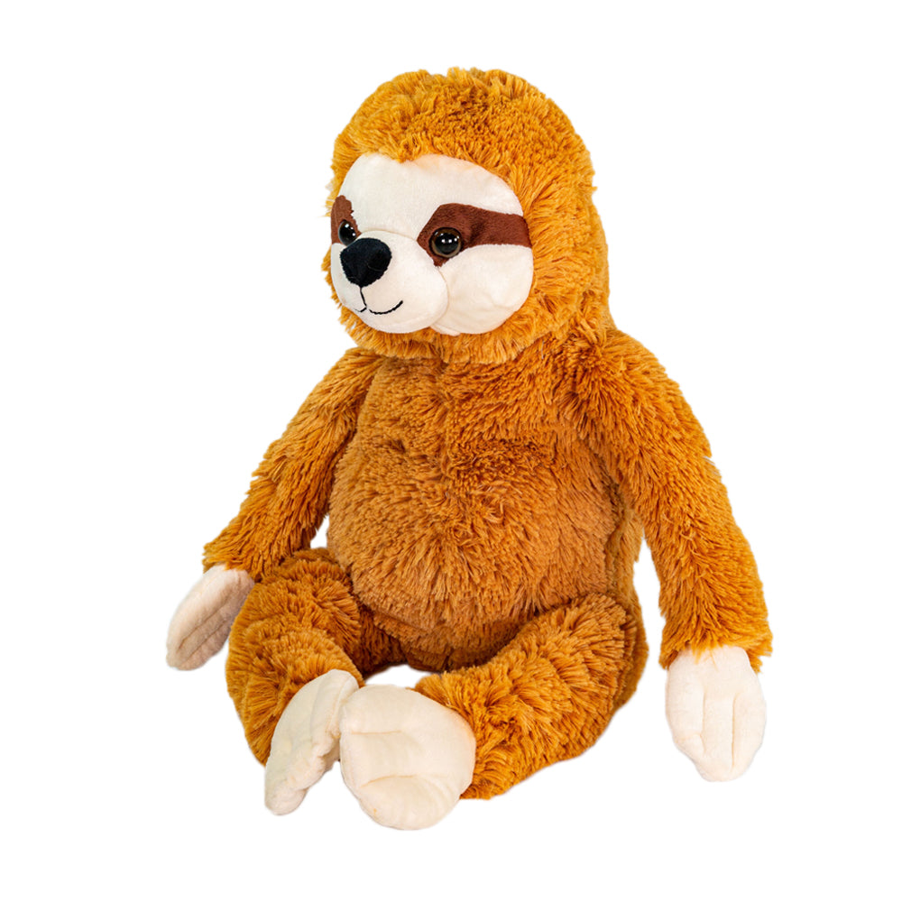 Sammy The Sloth (with clay bead pillow)