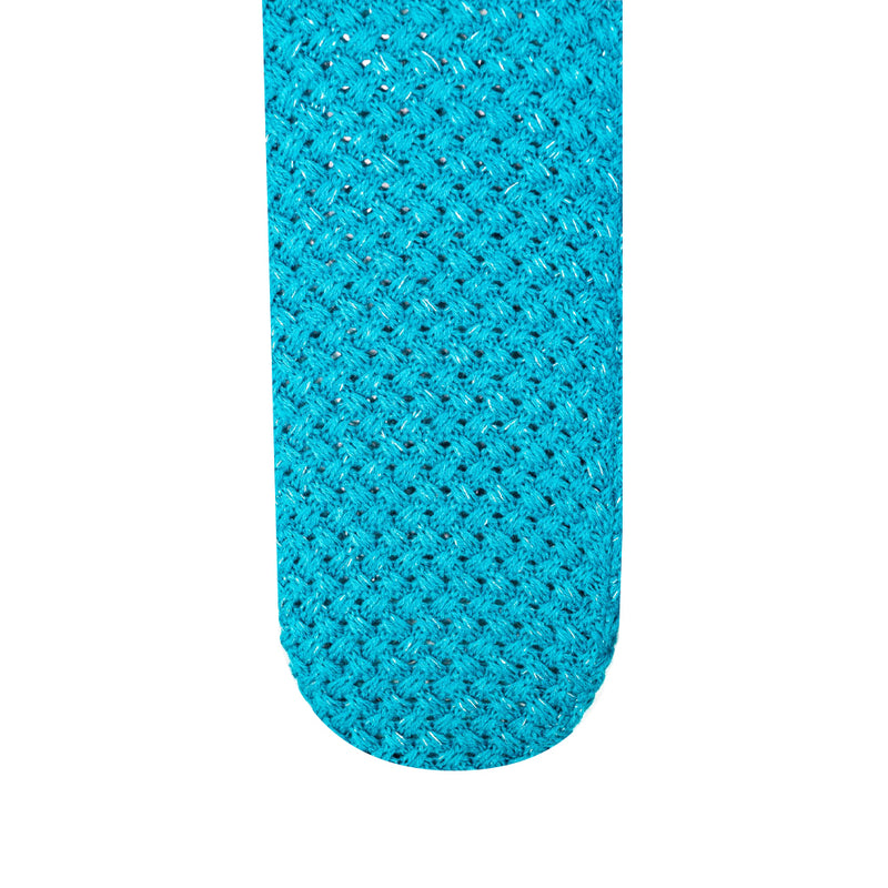 Teal & Silver Body Warming Long Hot Water Bottle
