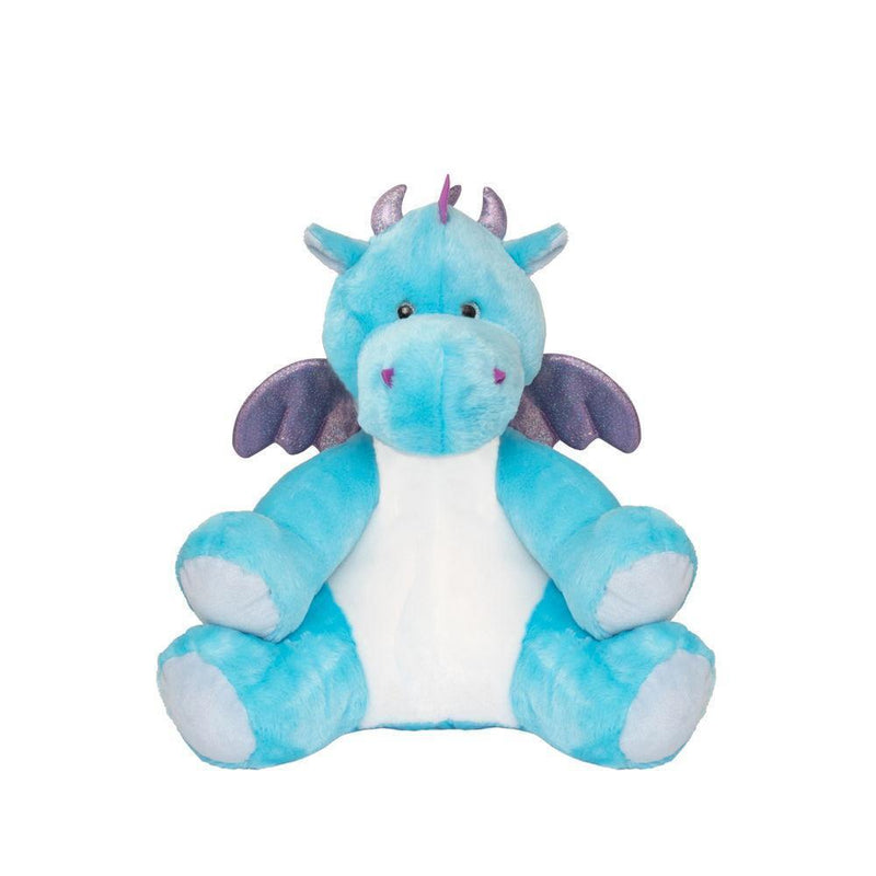 Blue dragon wheat toy