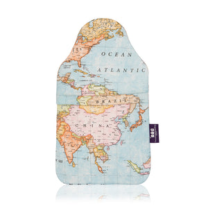Made In Britain Atlas Cover & Hot Water Bottle With Gift Box