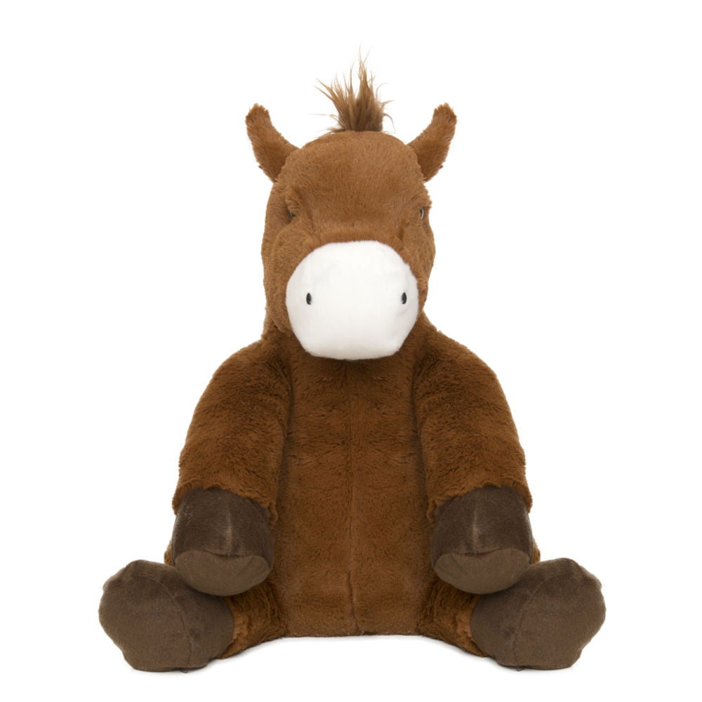 Hot Water Bottle Horse Toy Front on view