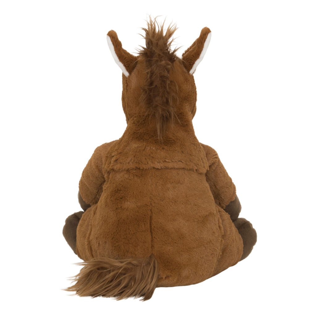 Hot Water Bottle Horse Toy back View