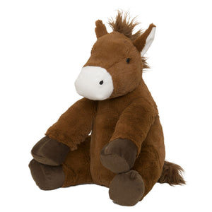 Hot Water Bottle Horse Toy angled view