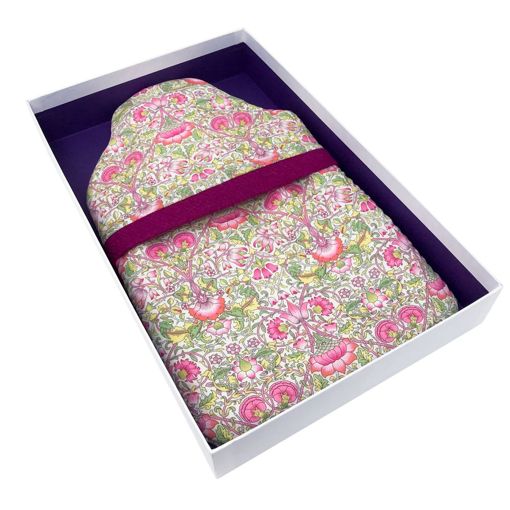 Made in Britain Liberty Lodden Cover & Bottle With Gift Box