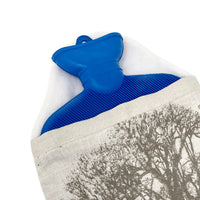 Winter Woodland Hot Water Bottle Cover With Bottle