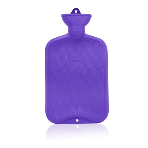Coronation 2 Litre Plain Sides Rubber Hot Water Bottle