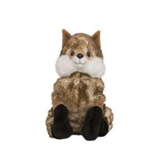 Fox wheat and lavender toy front view