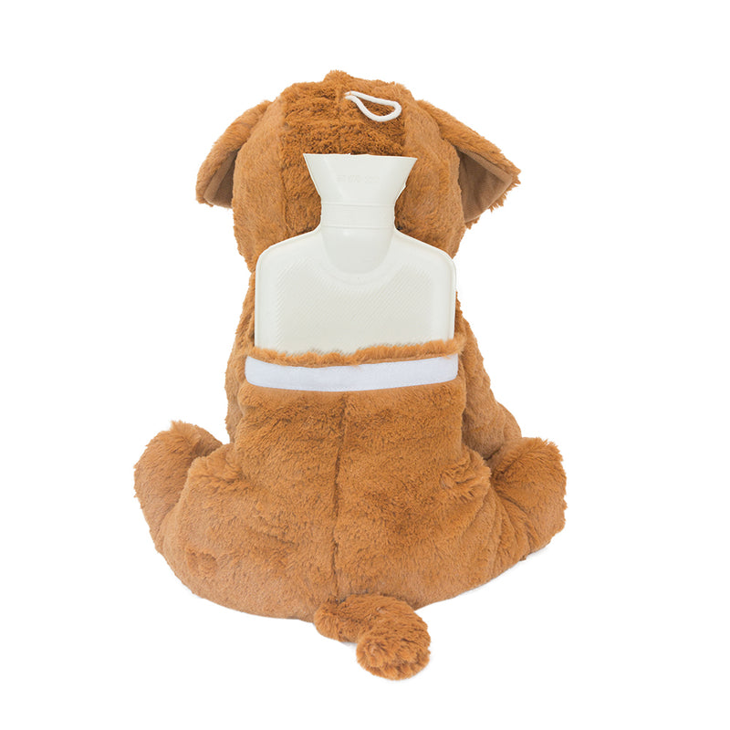 Kuddli Friends Boxer Dog hot water bottle toy