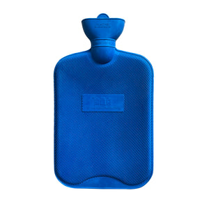 The Hot Water Bottle Shop 2 Litre Rib 1 Side Rubber Hot Water Bottle