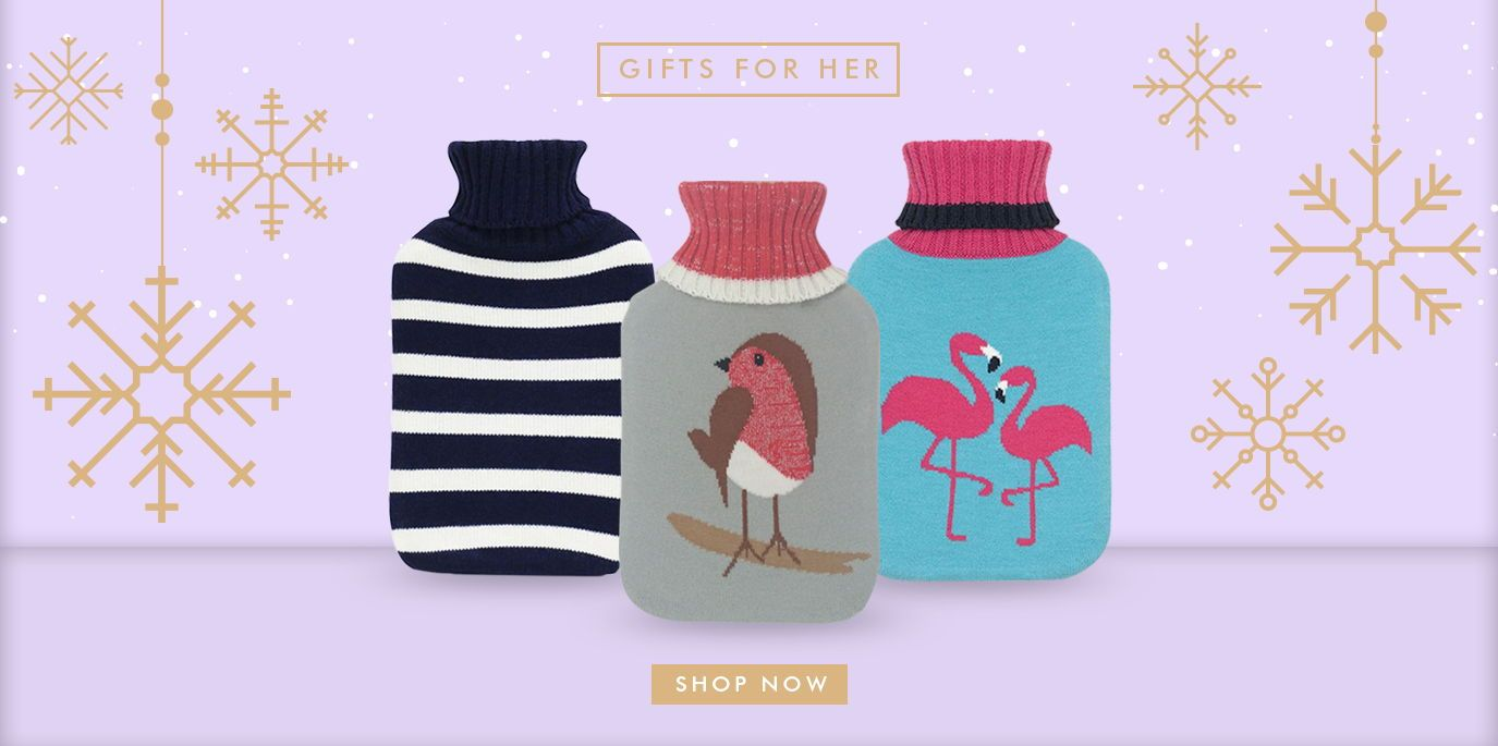 Ladies' Hot Water Bottle Collection