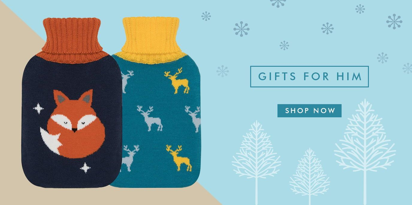 Men's Hot Water Bottle Collection