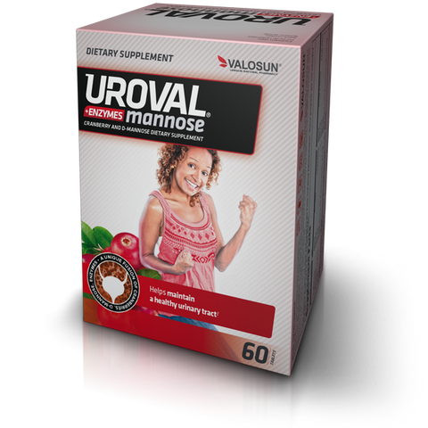 Uroval® mannose + ENZYMES