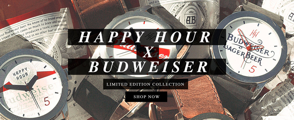 LIMITED EDITION HAPPY HOUR X BUDWEISER WATCH COLLECTION