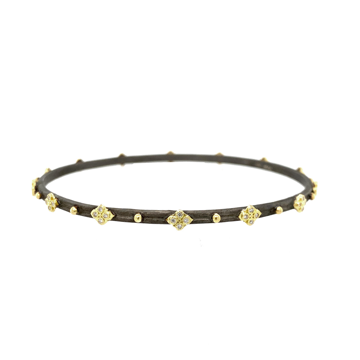Old World Midnight Bangle - Lesley Ann Jewels