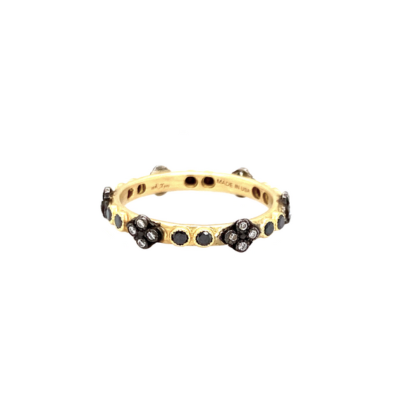 Black Diamond Stack Band - Lesley Ann Jewels