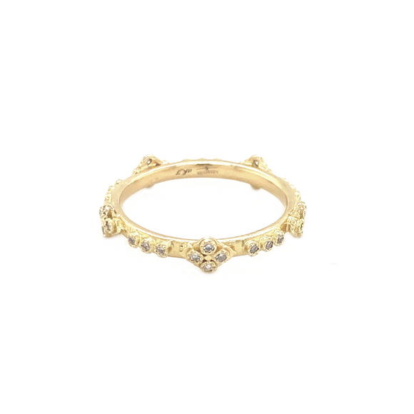 Crivelli Cross Ring - Lesley Ann Jewels
