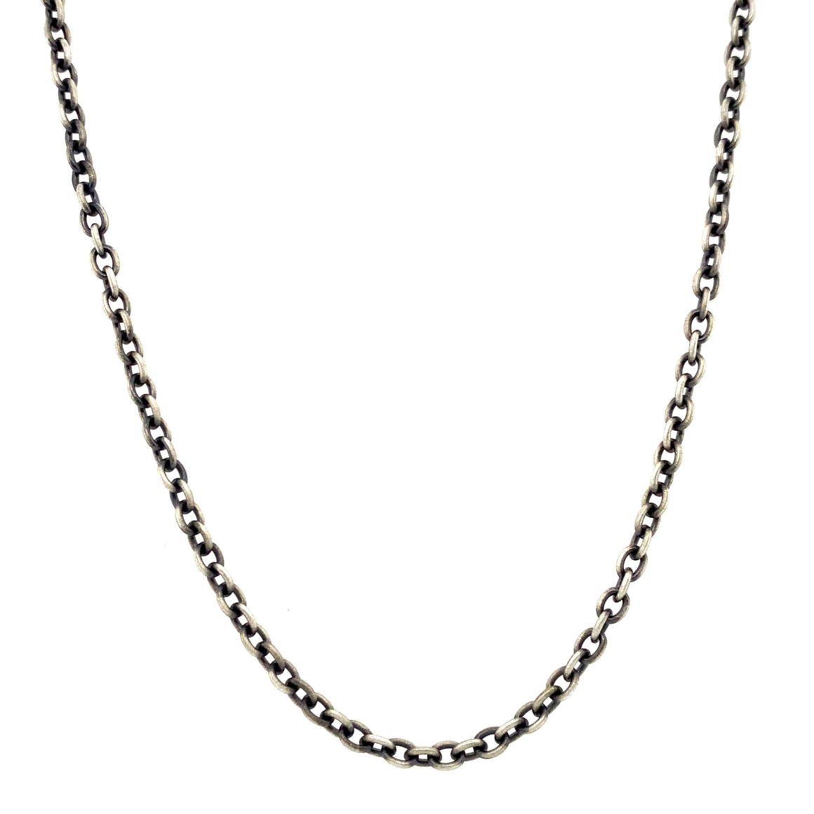 Oxidized Sterling Silver Chain - Lesley Ann Jewels