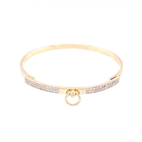 Swing Bar Bangle - Lesley Ann Jewels