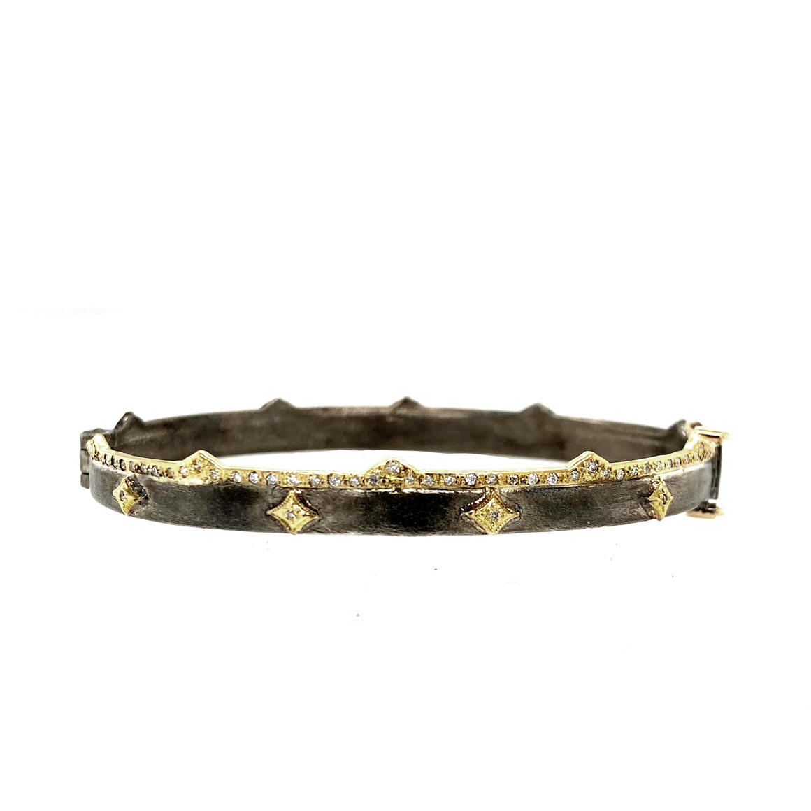 Crivelli Huggie Bangle - Lesley Ann Jewels