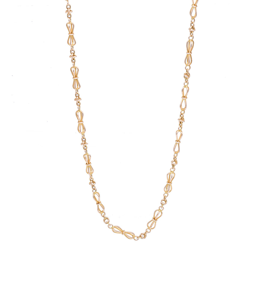 Short Antique Link Chain - Lesley Ann Jewels