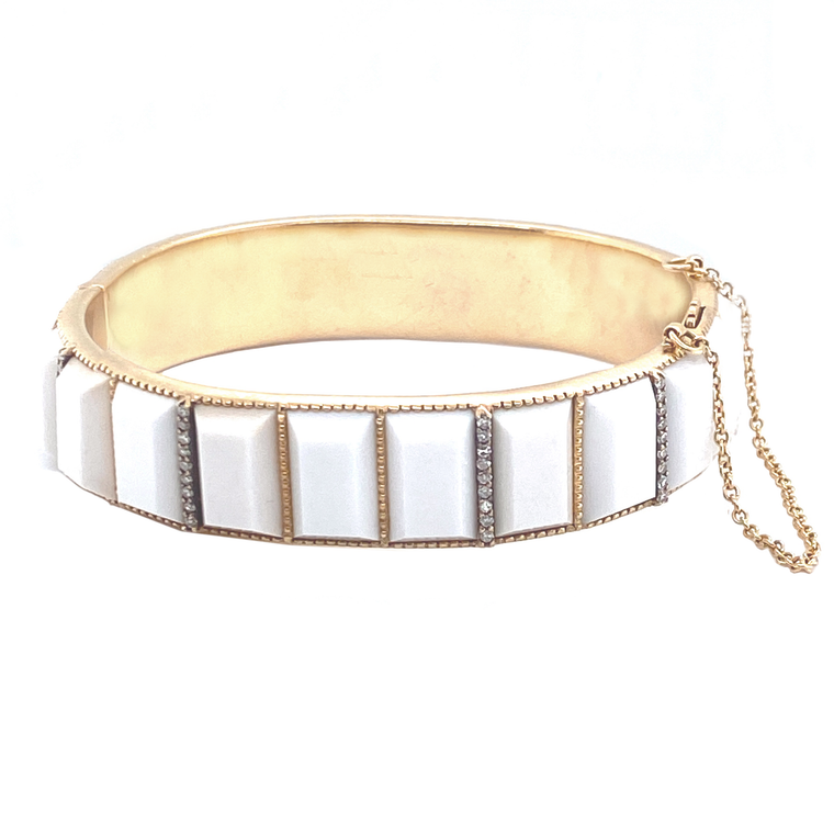 Cocholong Bangle - Lesley Ann Jewels