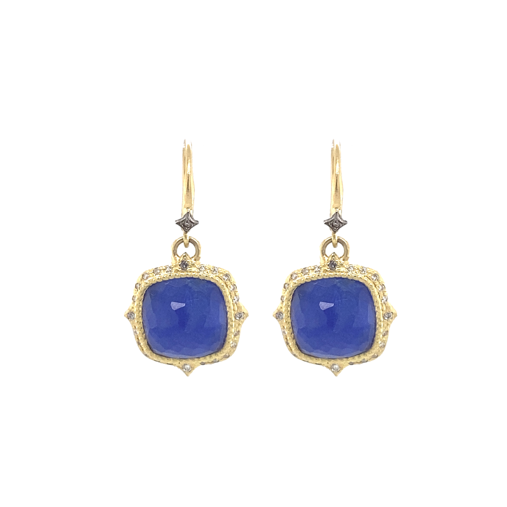 Lapis Drop Earrings - Lesley Ann Jewels