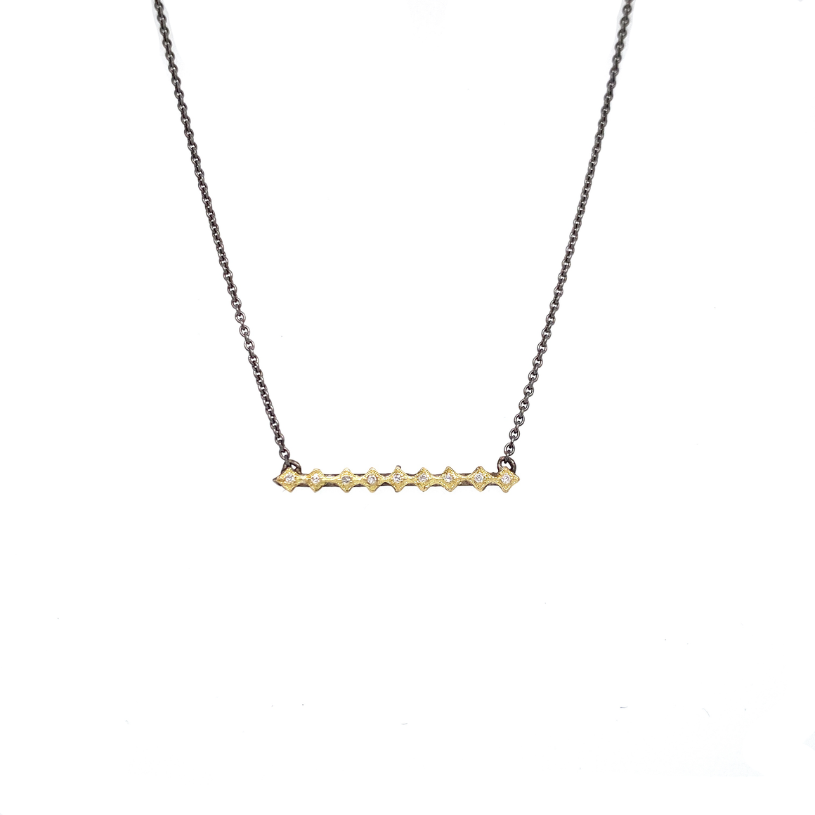 Crivelli Bar Necklace - Lesley Ann Jewels