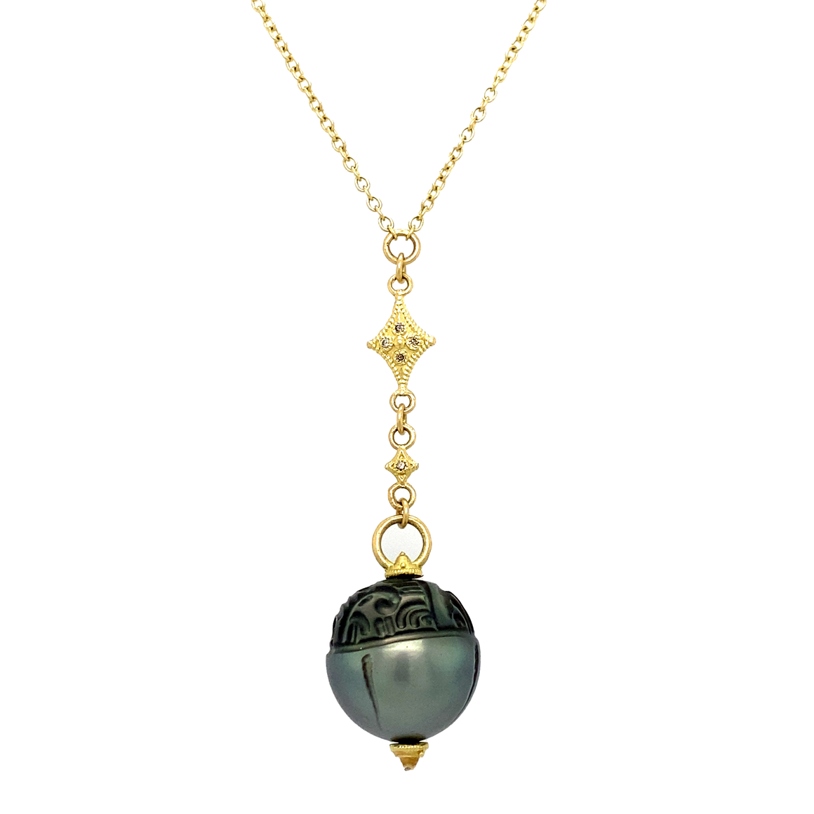 Tahitian Sea Pearl Necklace