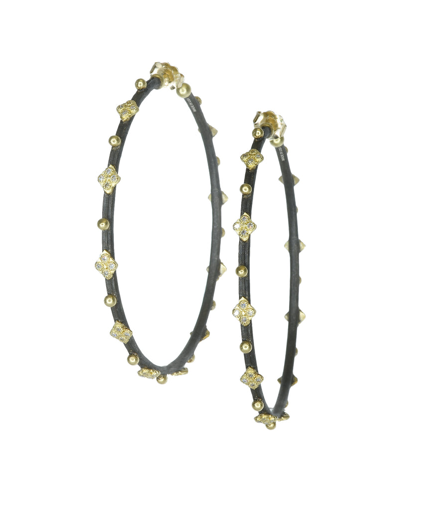Large crivelli hoops - Lesley Ann Jewels