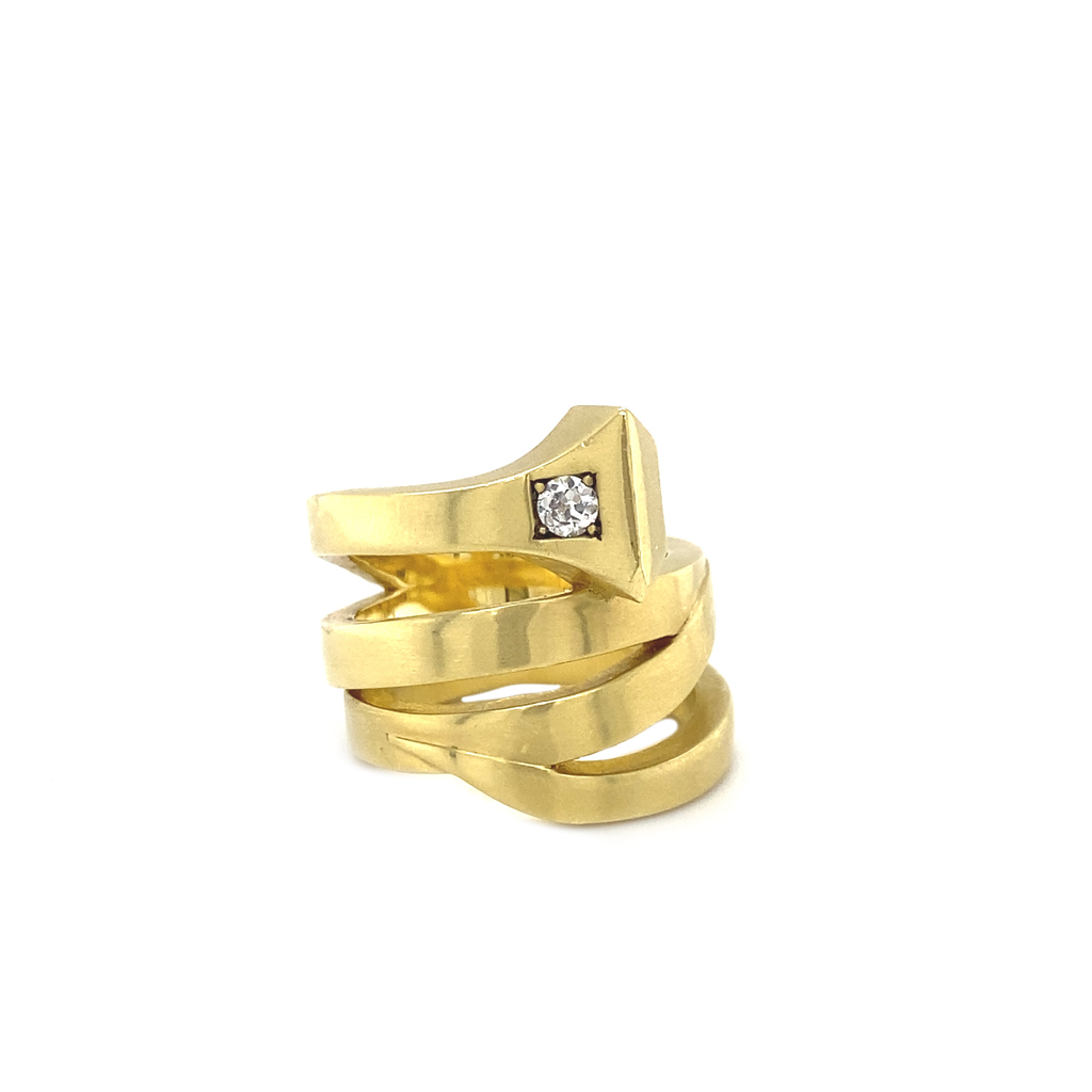 Equestrian Nail Ring - Lesley Ann Jewels