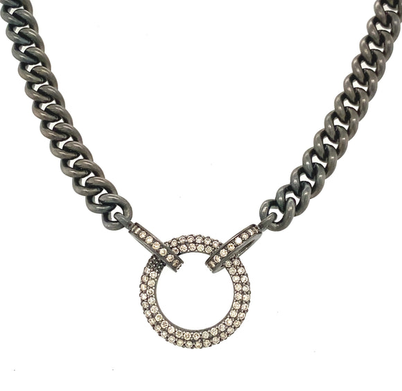 Classic Diamond Ring Display Chain - Lesley Ann Jewels