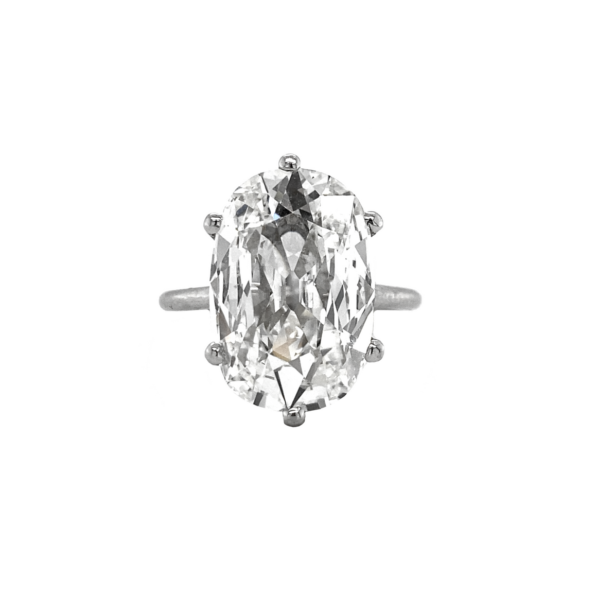Elongated Cushion Diamond Ring - Lesley Ann Jewels