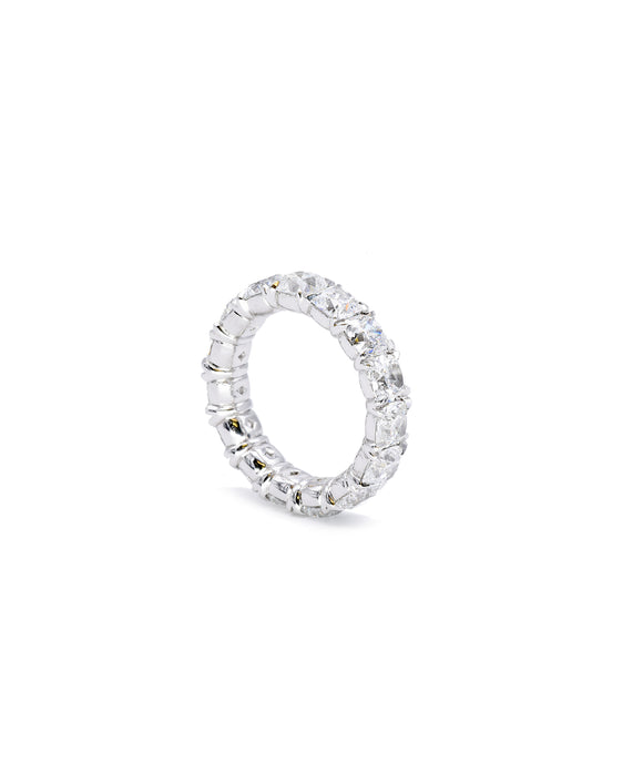 Eternity Band with Cushion Cut Diamonds - Lesley Ann Jewels