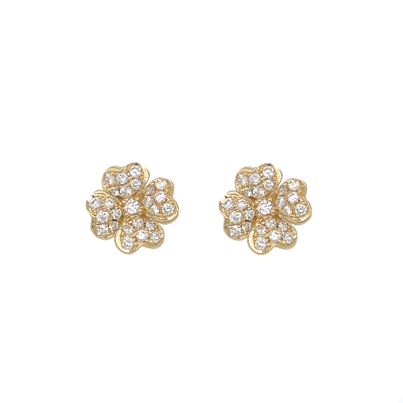 Flower Studs - Lesley Ann Jewels