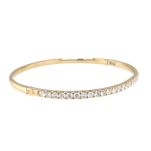Half-Way Hinged Bangle - Lesley Ann Jewels