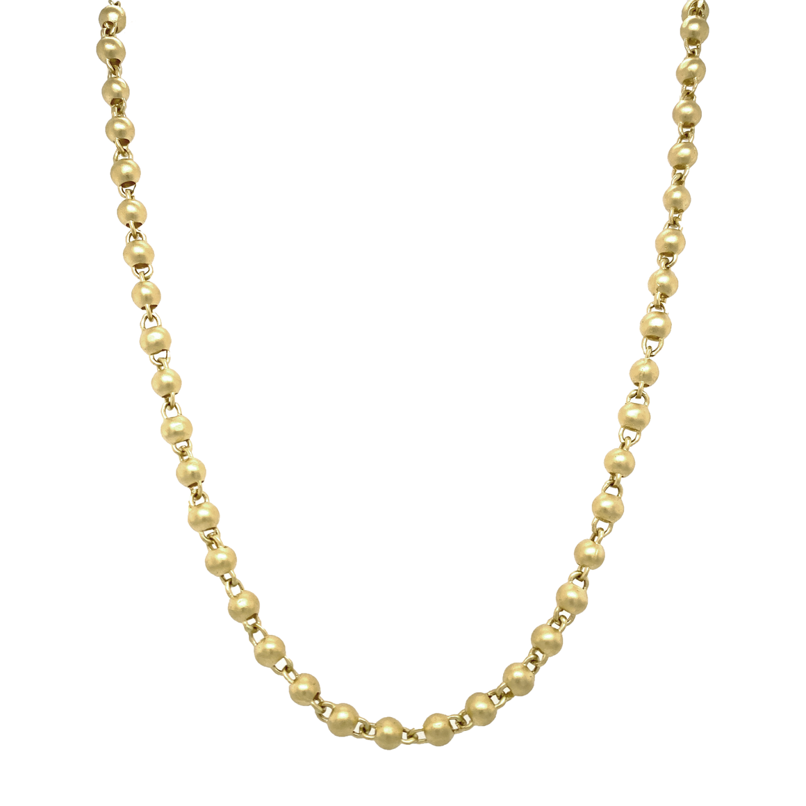 Round Bead Chain - Lesley Ann Jewels